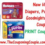 New Huggies Diapers, Pull Ups, And Goodnites Printable Coupons!   Free Printable Coupons For Huggies Pull Ups