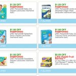 New Pampers & Baby Printable Coupons   Free Printable Coupons For Pampers Pull Ups