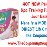 New Pampers Easy Ups Training Pants Coupon ~ Print Now!   Free Printable Coupons For Pampers Pull Ups