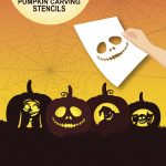 Nightmare Before Christmas Pumpkin Carving Stencils | Home Projects   Free Printable Nightmare Before Christmas Pumpkin Stencils