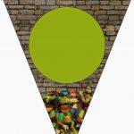 Ninja Turtles Free Party Printables And Invitations. | Event   Free Printable Ninja Turtle Birthday Banner