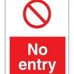 No Entry Signs | Poster Template   Free Printable No Entry Sign