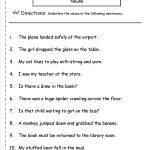 Nouns Worksheets And Printouts   Free Printable Pronoun Worksheets For 2Nd Grade