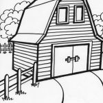 Old Macdonald's Barn | Party Ideas | Farm Animal Coloring Pages   Free Printable Barn Coloring Pages
