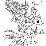 Online Rudolph And Other Reindeer Printables And Coloring Pages   Xmas Coloring Pages Free Printable