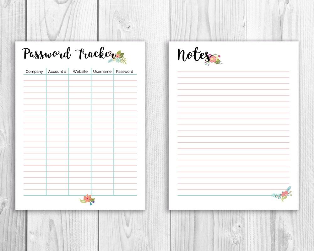Organize Your Finances- Printable Budget Binder- Floral- A - Free Printable Budget Binder