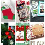 Over 50 Printable Gift Card Holders For The Holidays   Gcg   Free Printable Christmas Money Holders