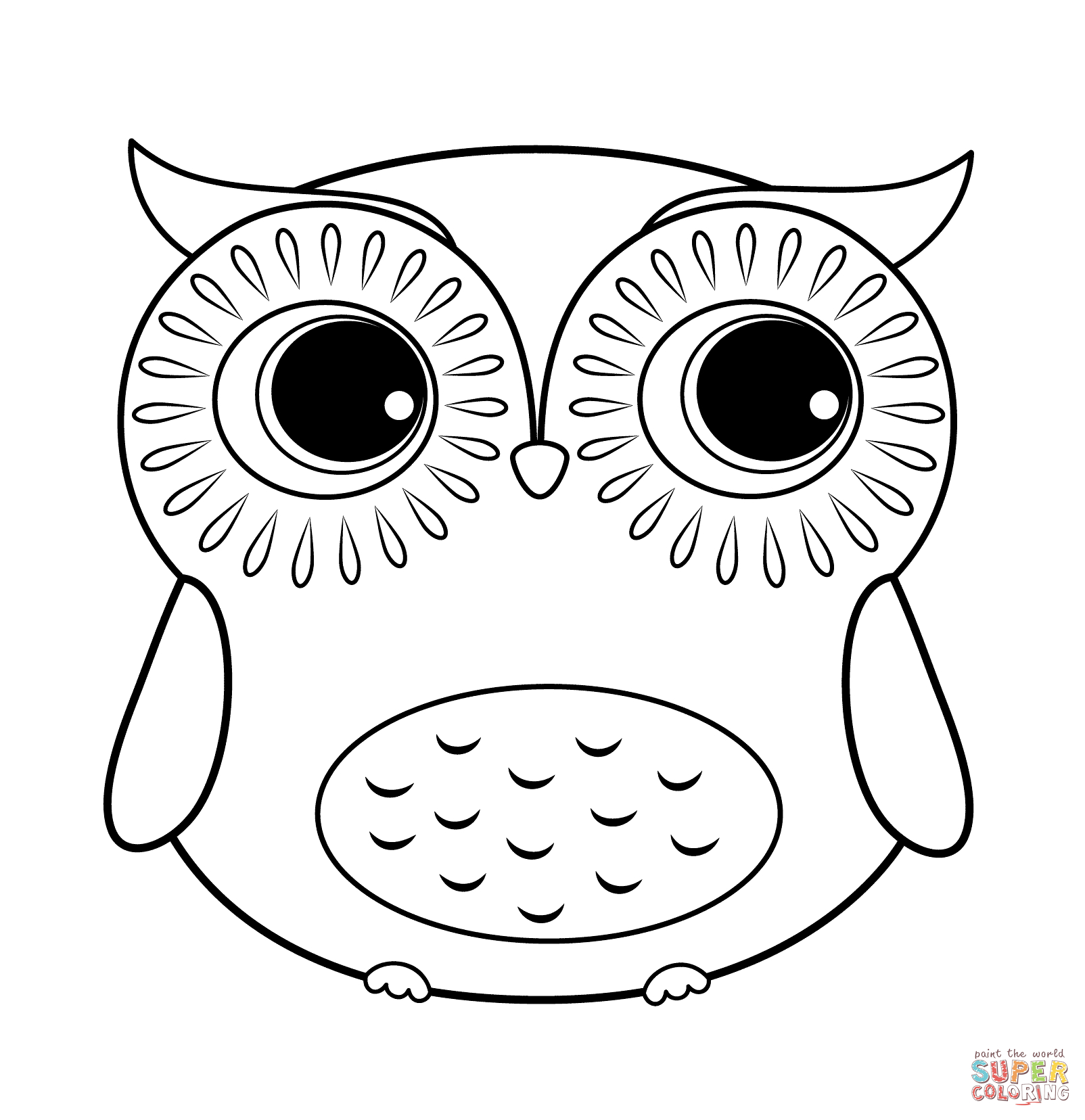 Owls Coloring Pages   Free Coloring Pages - Free Printable Owl Coloring Sheets