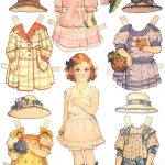 Paper Dolls And Paper Doll Dresses   Printable From Kid Fun     Free Printable Paper Dolls