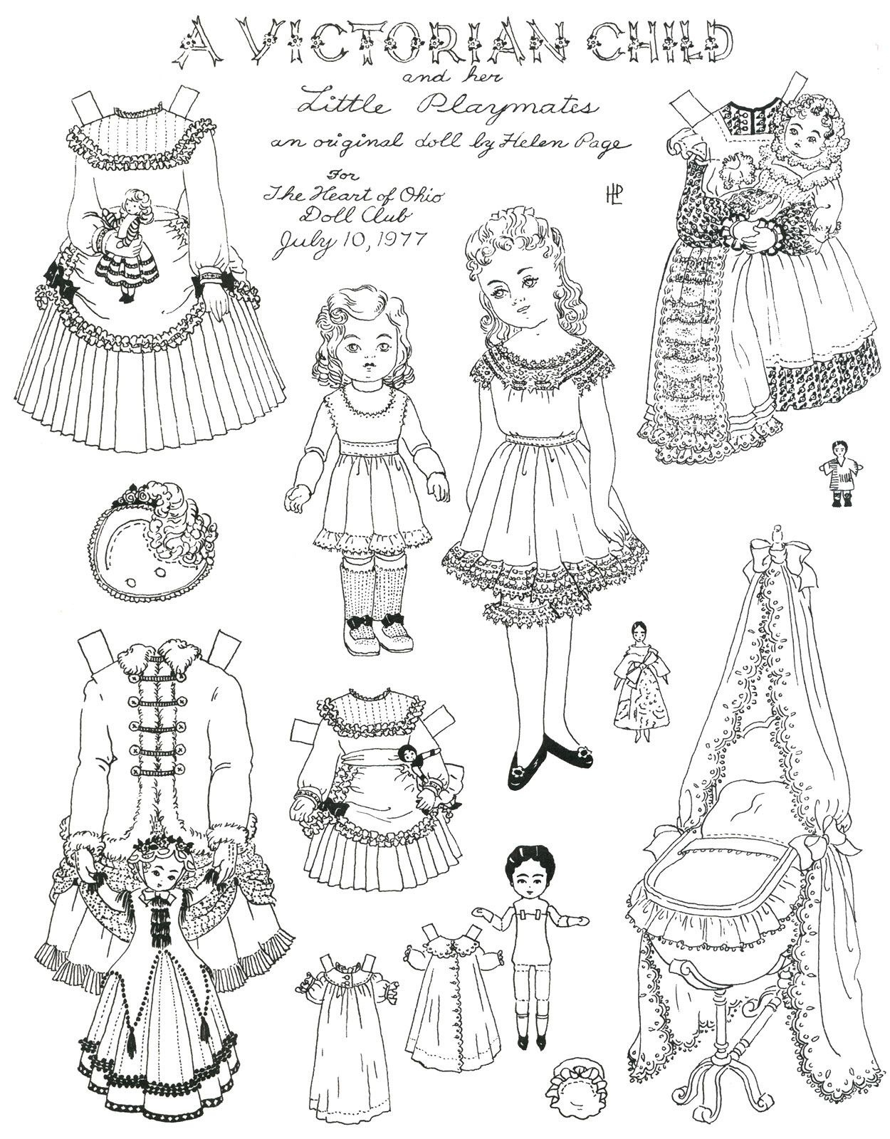 Paper Dress Up Dolls Template Best Of Victorian Paper Dolls - Free Printable Paper Dolls