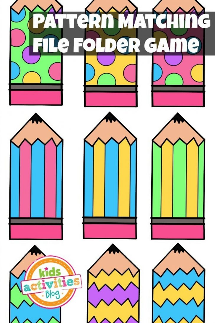 File Folder Games For Toddlers Free Printable