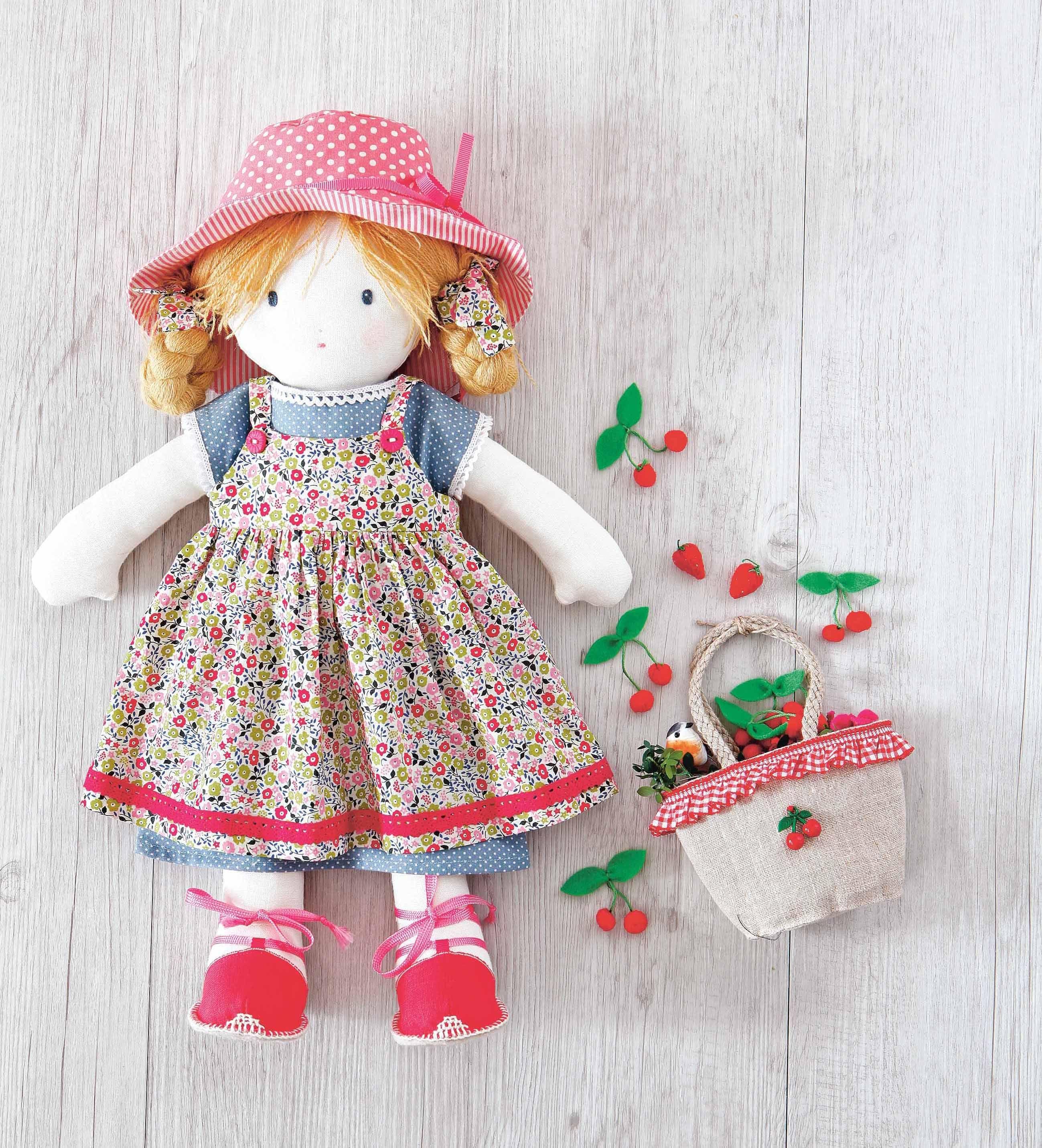 Pattern: Printable Rag Doll Sewing Pattern   Sewing   Doll Sewing - Free Printable Rag Doll Patterns
