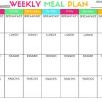 Pcos Diet And Nutrition | Foods, Tips, And Printables   Free Printable Meal Plans For Weight Loss
