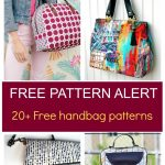 Pdf Sewing Patterns   On The Cutting Floor   Sewing Patterns Free   Handbag Patterns Free Printable