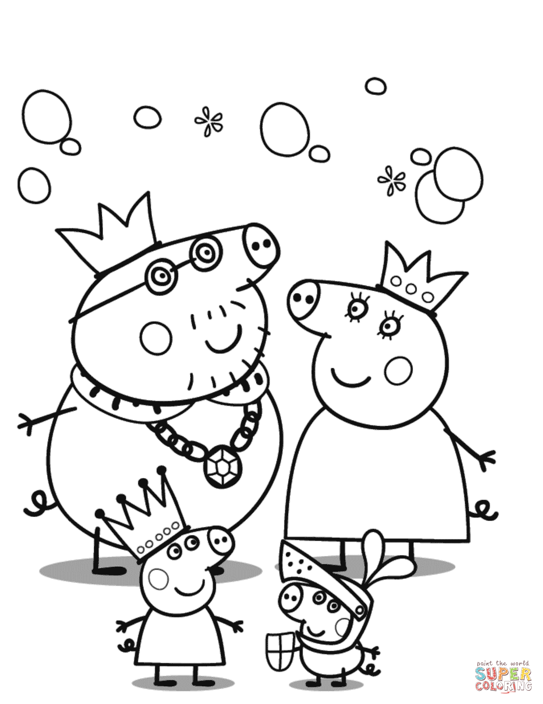Peppa Pig Coloring Pages | Free Coloring Pages - Pig Coloring Sheets Free Printable
