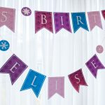 Personalized Princess Happy Birthday Banner Printable Pdf For 'all   Free Printable Princess Birthday Banner