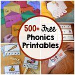 Phonics Activities   The Measured Mom   Free Phonics Readers Printable