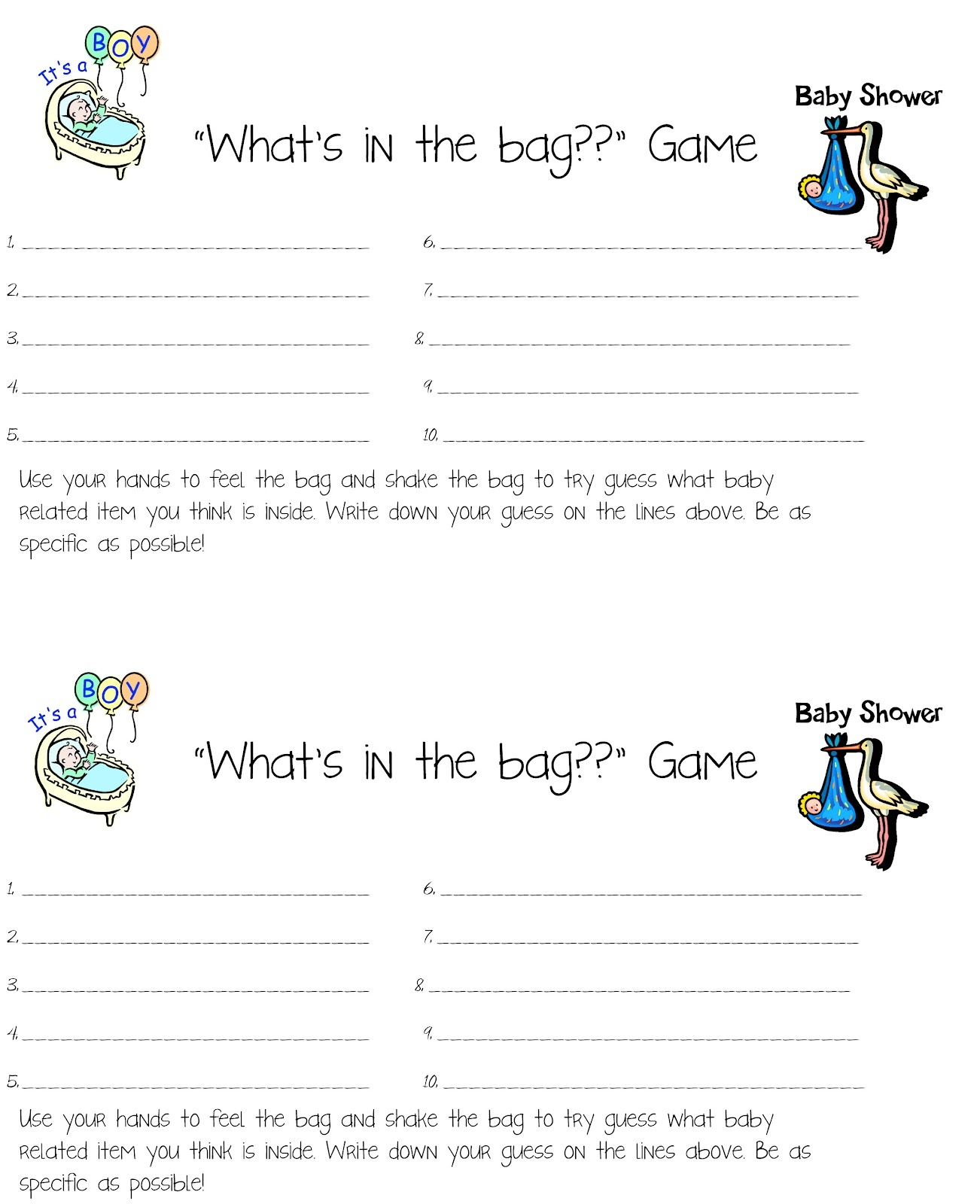 Photo : Free Baby Shower Games Image - Free Printable Baby Shower Games Who Knows Mommy The Best
