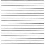 Pinabigail Robertson On Their First Teacher. | Lined Paper For   Elementary Lined Paper Printable Free