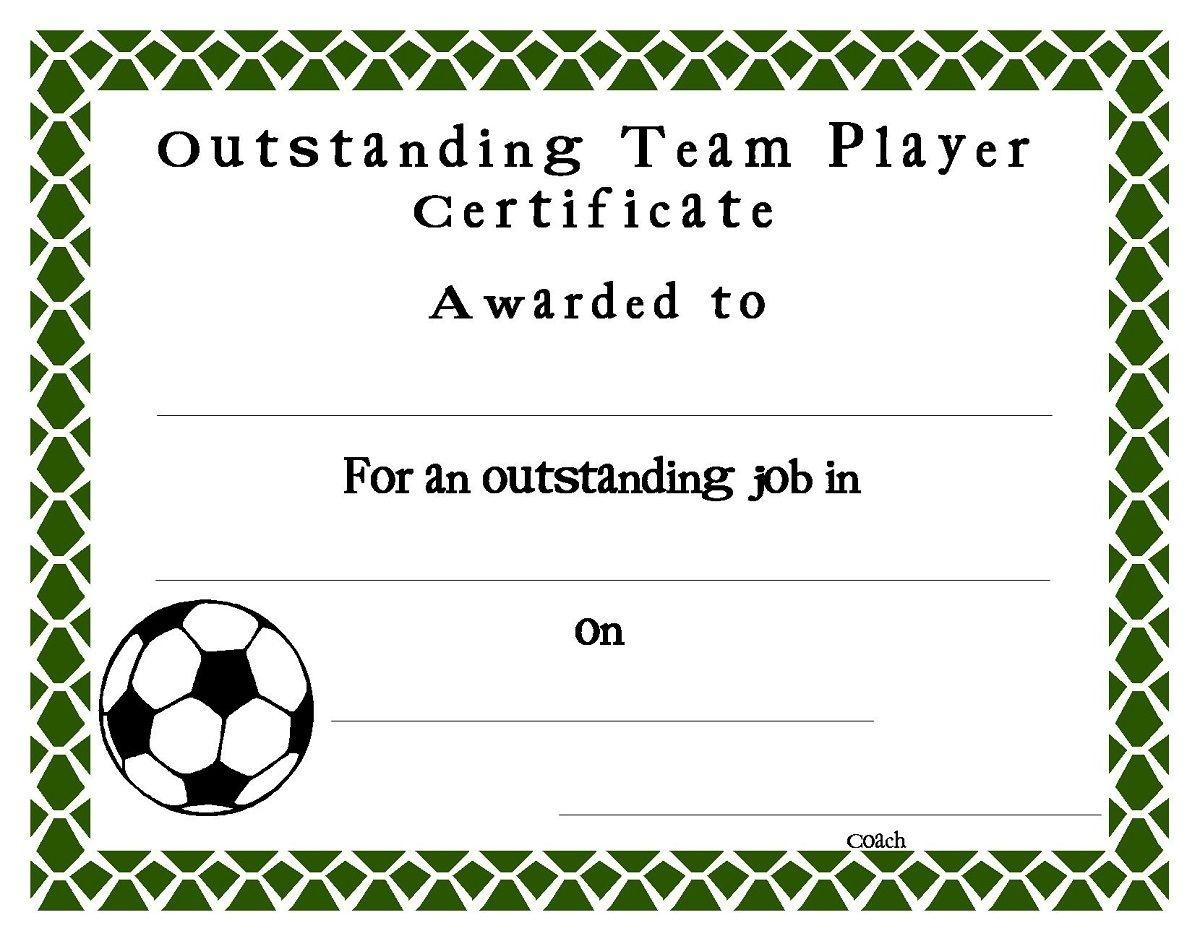 Pinamanda Parish On Diy | Award Certificates, Certificate, Free - Free Soccer Award Certificates Printable