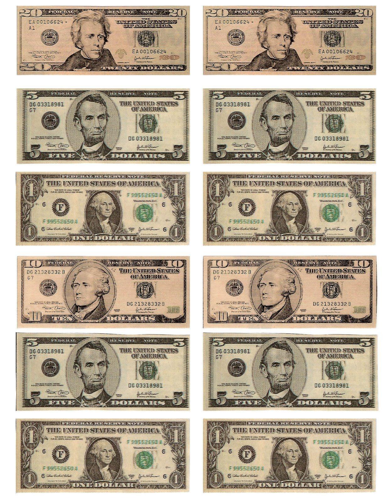 Pinbelinda Stone On Money | Printable Play Money, Teaching Money - Free Printable Play Money Sheets
