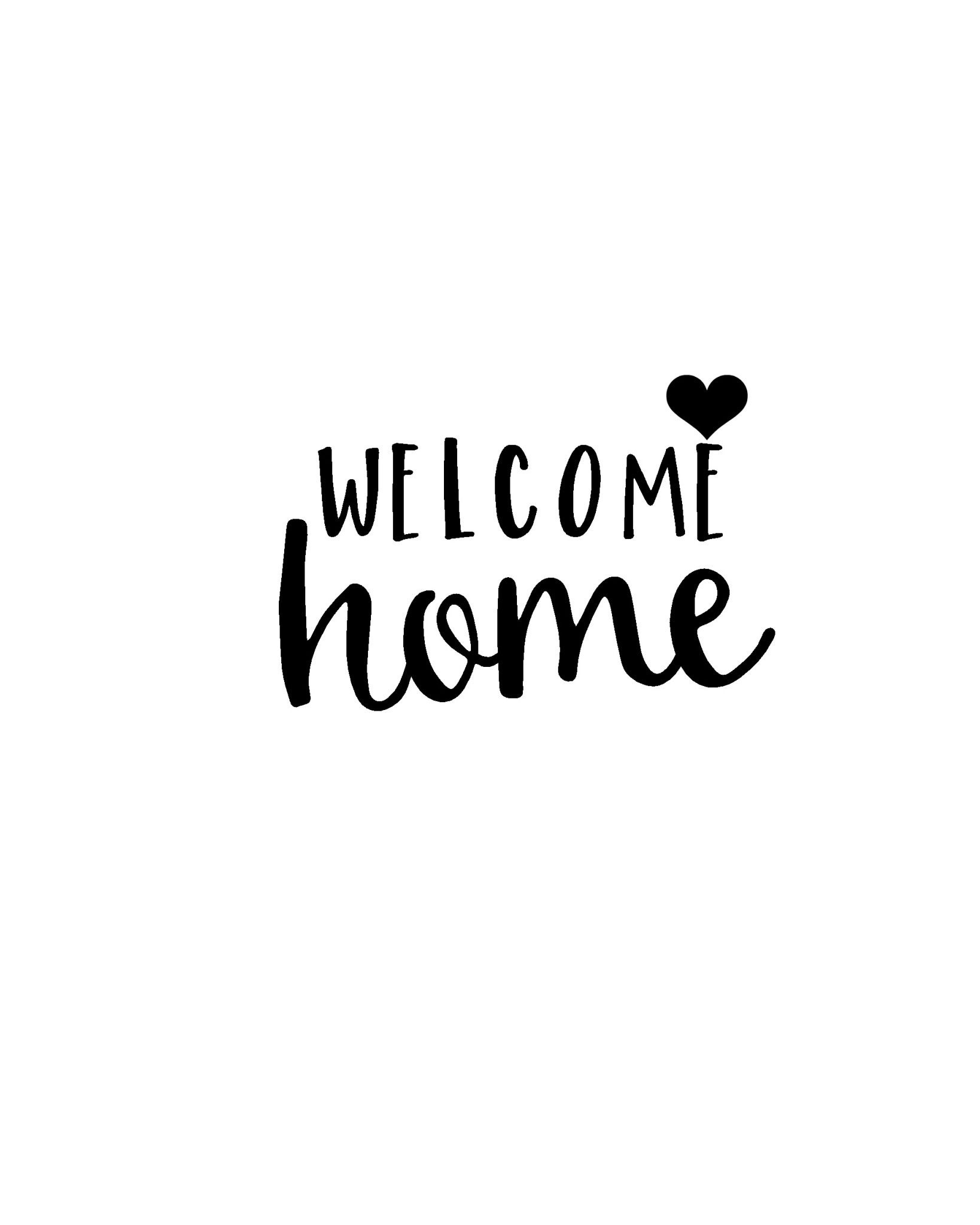 Pinbrett Henchy On Welcome Home | Welcome Home Banners, Welcome - Welcome Home Cards Free Printable
