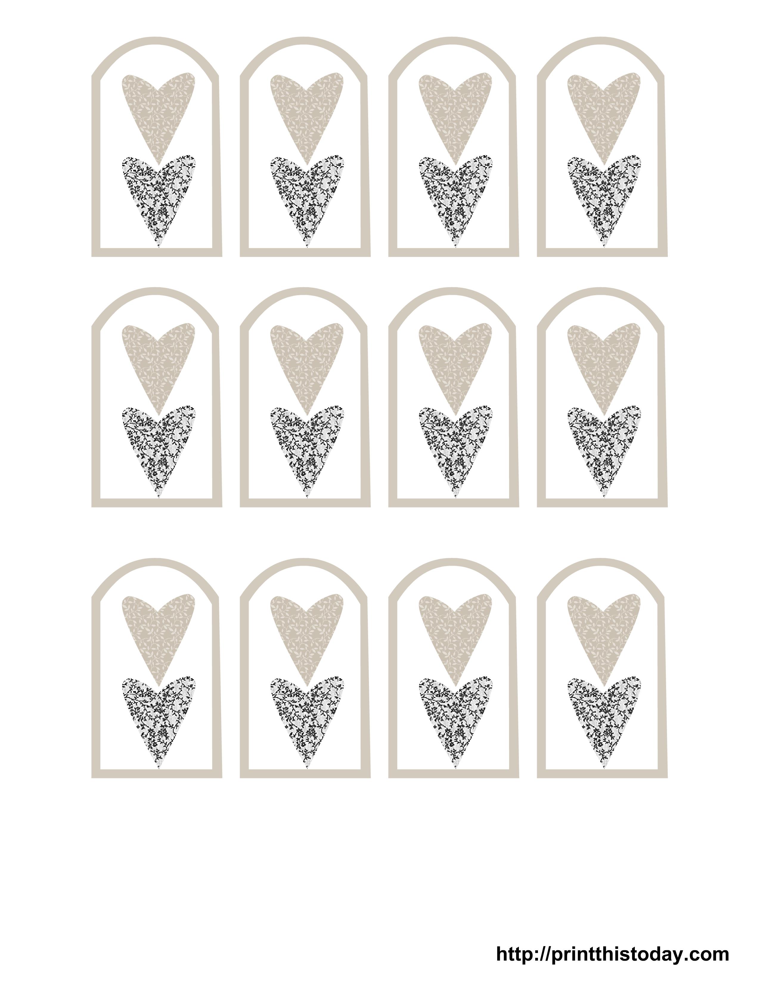 Pindoreen Gunderson On Printables | Wedding Favor Tags, Wedding - Free Printable Wedding Thank You Tags