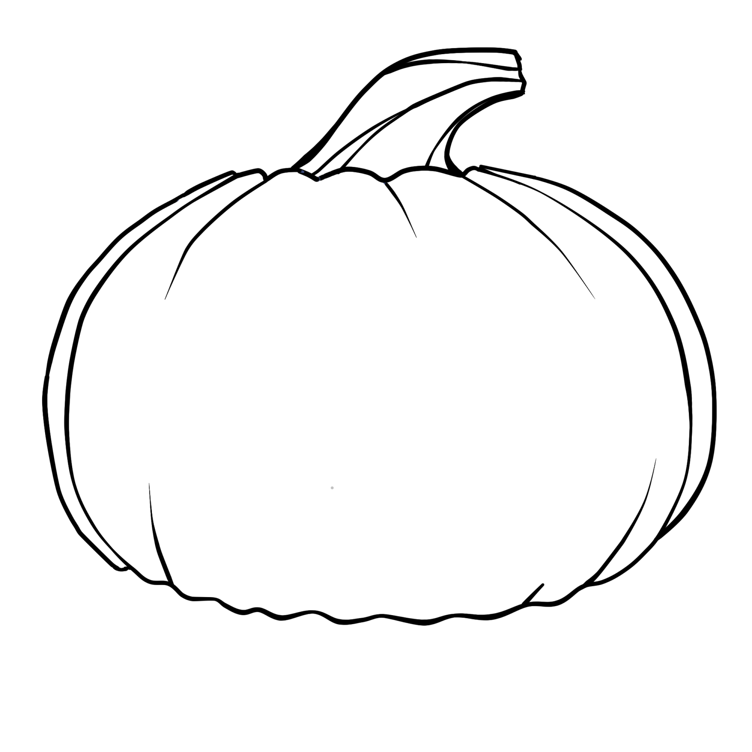 Pingail On Autumn | Pumpkin Coloring Pages, Pumpkin Outline - Pumpkin Shape Template Printable Free