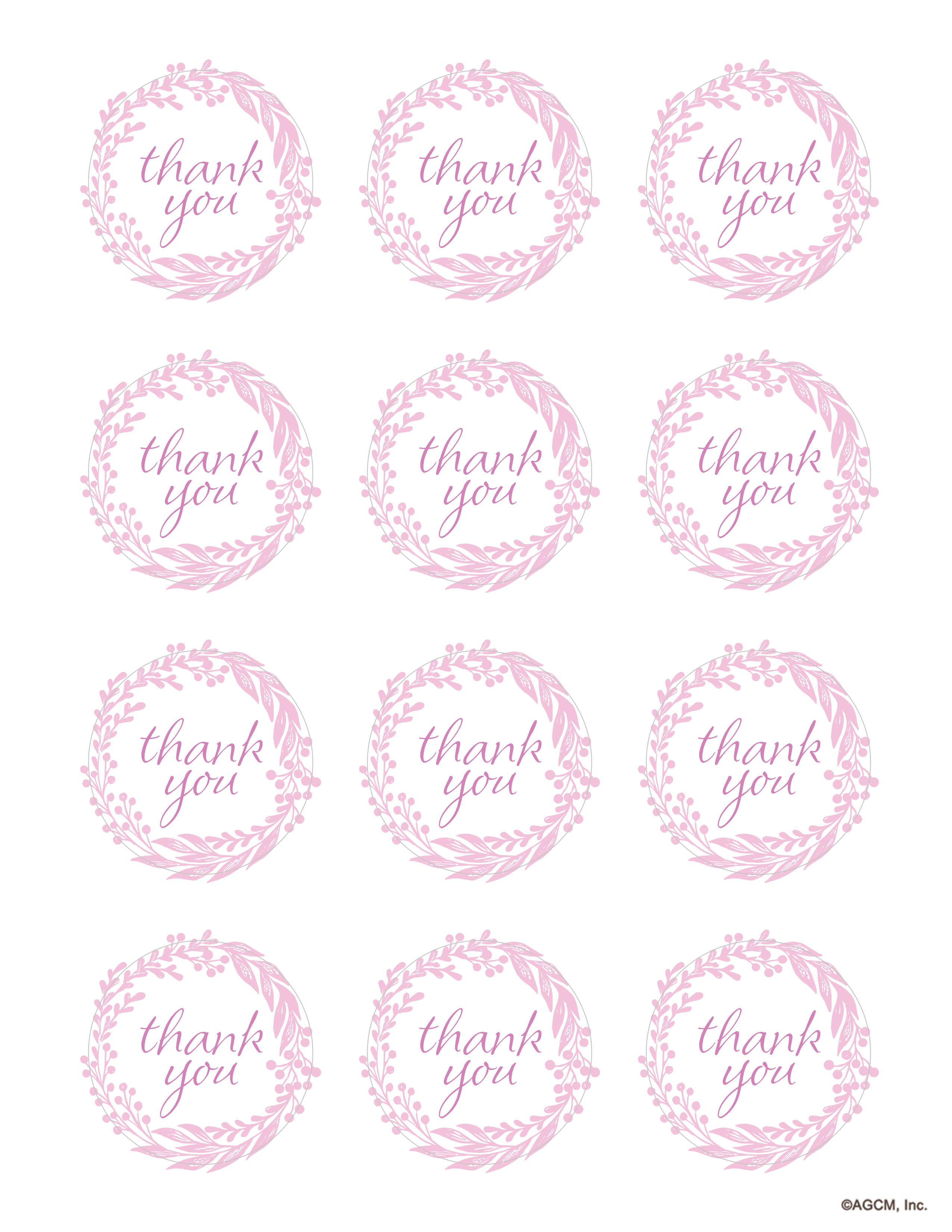 Pink And Gold Birthday Party Ideas | Gift Ideas And Gift Wrapping - Free Printable Thank You Tags For Birthday Favors