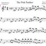 Pink Panther Sheet Music For Mobile The Pink Panther Theme1275   Free Printable Trumpet Sheet Music Pink Panther