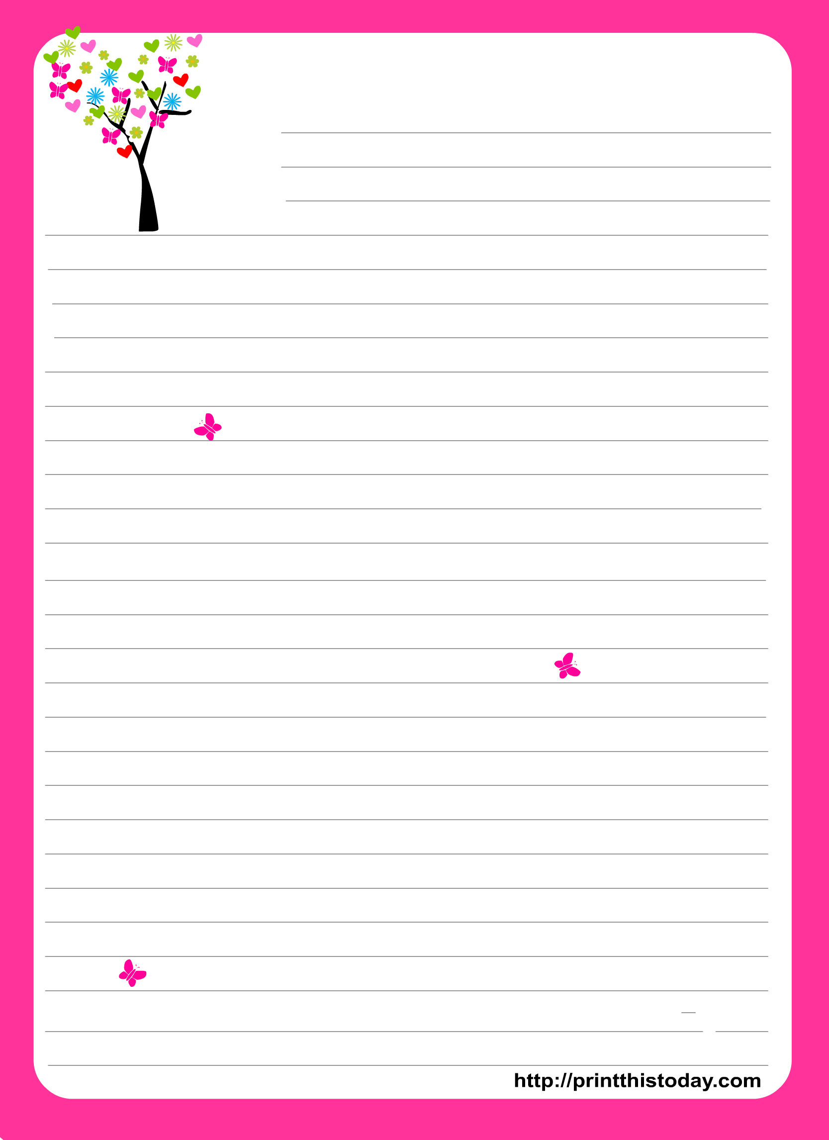 Pinlindsy Fowler On Free Printables | Free Printable Stationery - Free Printable Stationery Writing Paper