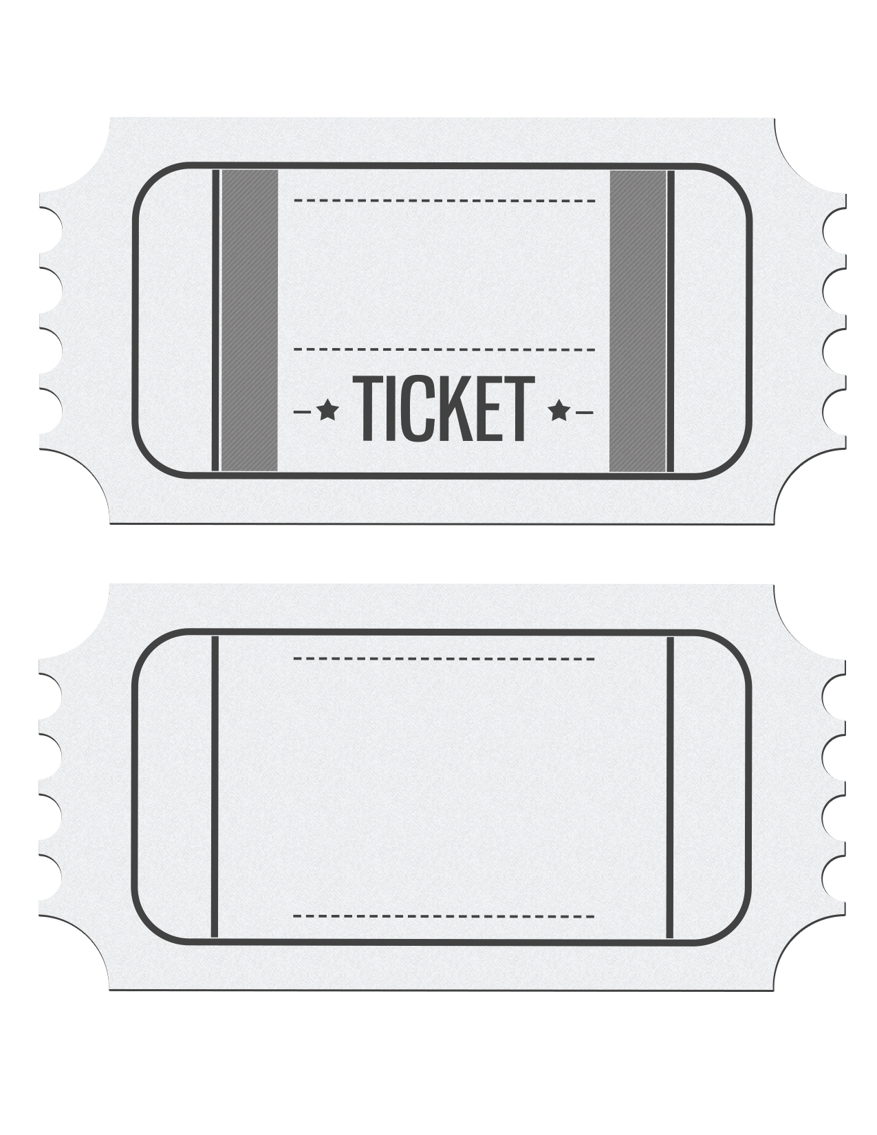 Pinlucy Escobedo On Cool | Ticket Invitation, Ticket Template - Free Printable Ticket Invitations