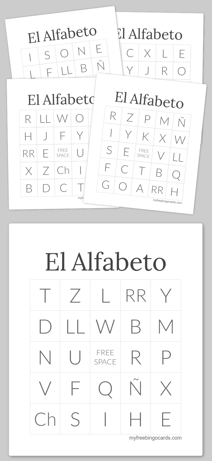 Pinmaria Gonzales On Spanish Learning | Free Printable Bingo - Free Printable Spanish Bingo Cards