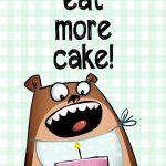 Pinstephanie Bracelin On Diy: Printables And Downloads | Funny   Free Printable Humorous Birthday Cards