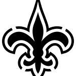 Pinthe Merlins On Cricut Files | New Orleans Saints Logo, New   Printable Nfl Pumpkin Carving Patterns Free