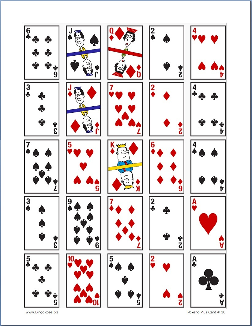 Png Of Pokeno Game & Free Of Pokeno Game Transparent Images - Free Printable Pokeno Game Cards