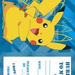 Pokemon Birthday Invitations Free Printable | Birthday Ideas In 2019   Pokemon Invitations Printable Free
