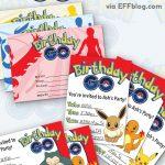 Pokémon Go: Birthday Go Free Printable Invitations | Pokemon Go   Pokemon Invitations Printable Free