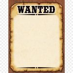 Poster, Font, Flyer, Transparent Png Image & Clipart Free Download   Free Printable Wanted Poster Invitations