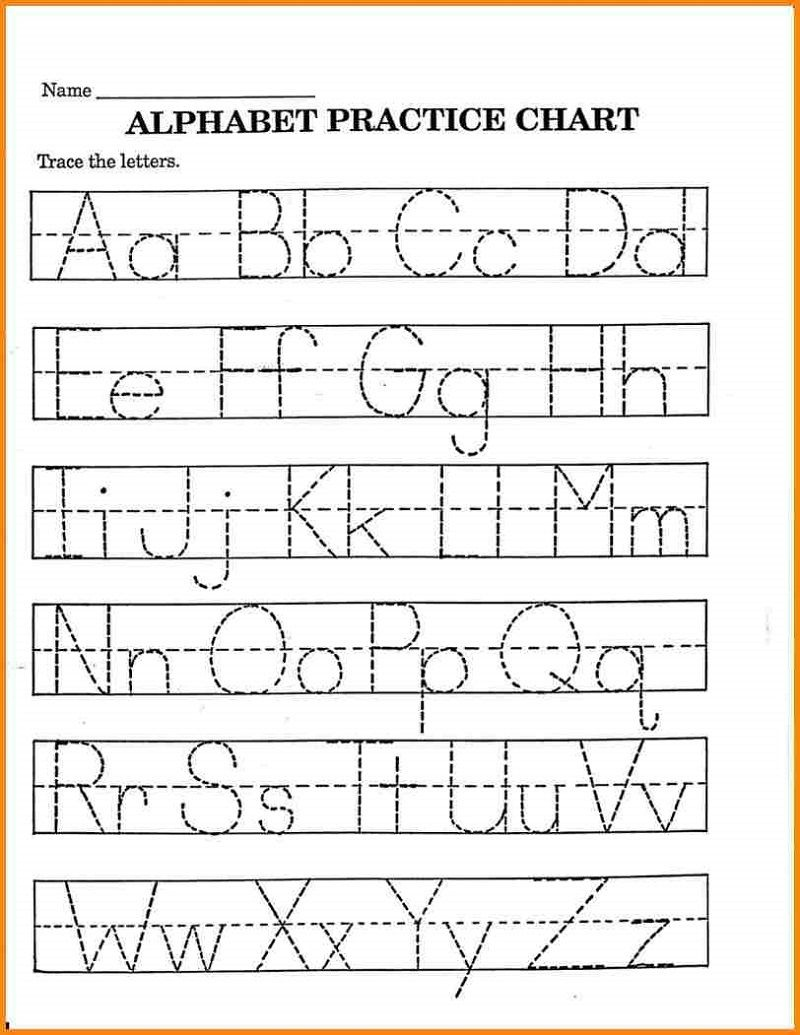 Pre K Math Worksheets Alphabet – Learning Printable | Preschool - Free Printable Pre K Activities