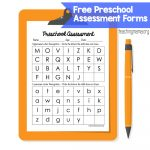 Preschool Assessment Forms   Teaching Mama   Free Printable Informal Math Assessments
