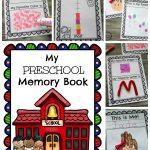 Preschool Memory Book   Planning Playtime   Free Printable Preschool Memory Book