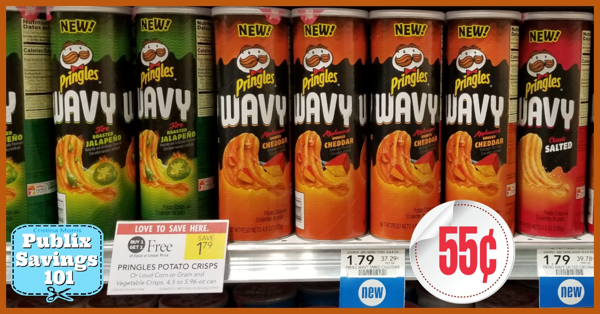 Pringles Wavy – Only 55¢ Each | Publix Savings 101 - Free Printable Pringles Coupons
