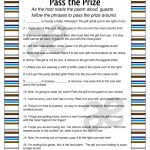 Printable Baby Boy Shower Activity: Pass The Prize Instant | Etsy   Pass The Prize Baby Shower Game Free Printable