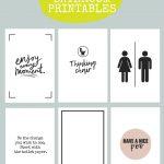 Printable Bathroom Signs | Being Mrs Mcintosh   Free Printable Bathroom Pictures