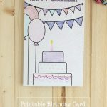Printable Birthday Coloring Pages | Printables | Birthday Coloring   Free Printable Happy Birthday Cards For Dad