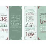 Printable Bookmarks With Bible Verses | Chart And Printable World   Free Printable Bookmarks With Bible Verses