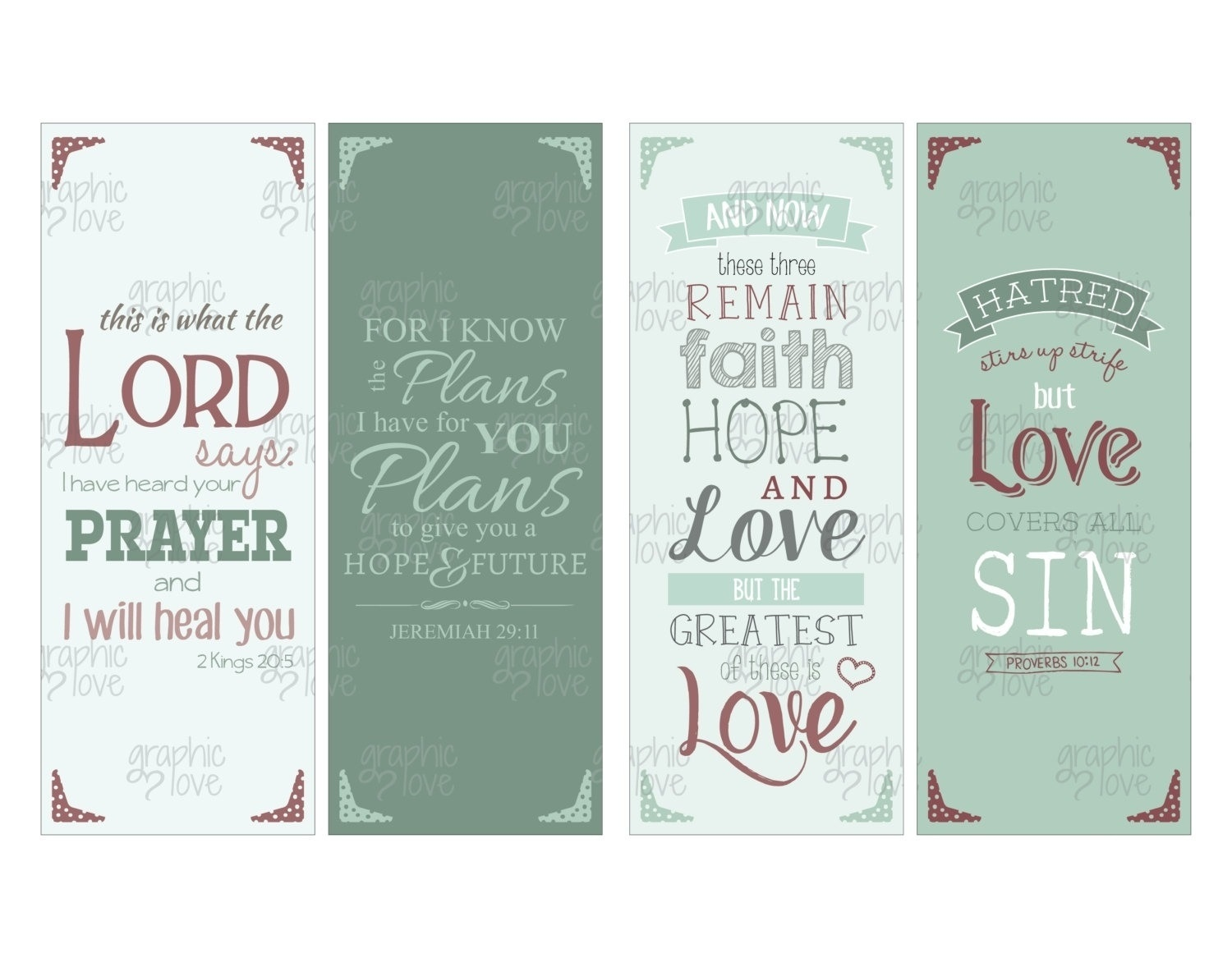Printable Bookmarks With Bible Verses | Chart And Printable World - Free Printable Bookmarks With Bible Verses