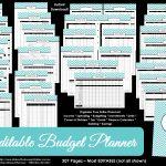 Printable Budget Planner/finance Binder Update   All About Planners   Free Printable Budget Binder