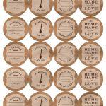 Printable Canning Jar Labels   Free Printable Mason Jar Labels